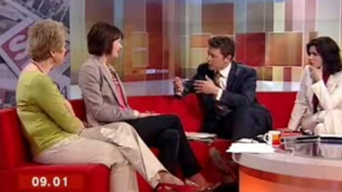 Talk to The Press' appearance on BBC Breakfast Image