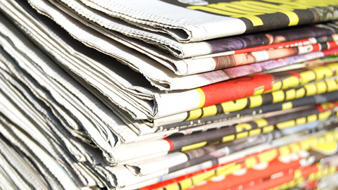 sell your story to a newspaper