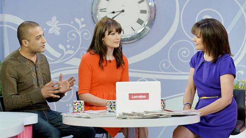 Lorraine TV show image 1
